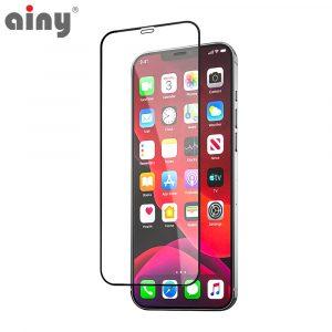3D защитное стекло Ainy® iPhone 12 Pro Max (6.7)