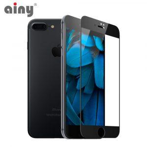3D защитное стекло Ainy® iPhone 7 Plus/8 Plus (только перед)