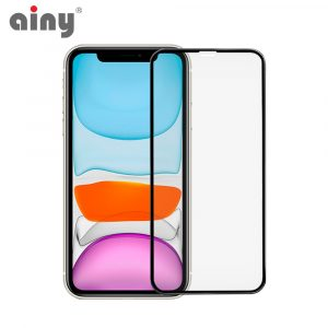 3D защитное стекло Ainy® iPhone XR/11 (только перед)