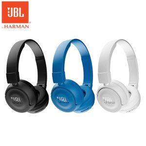 Bluetooth наушники JBL® T450BT (гарнитура с микрофоном)