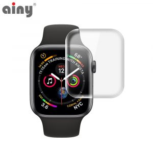 Премиум защитная гидрогелевая плёнка Ainy Apple Watch 42мм