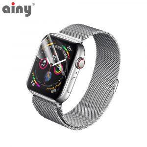 Премиум защитная гидрогелевая плёнка Ainy Apple Watch 40мм