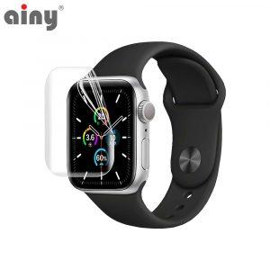 Премиум защитная гидрогелевая плёнка Ainy Apple Watch 44мм