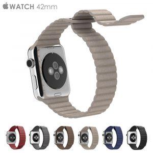 Кожаный ремешок Leather loop band (копия) Apple Watch 42мм (6 цветов)