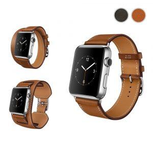 Кожаный ремешок Watch strap set 3 in 1 Apple Watch 38мм