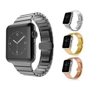 Металлический ремешок Block steel strap Apple Watch 42мм (сталь)