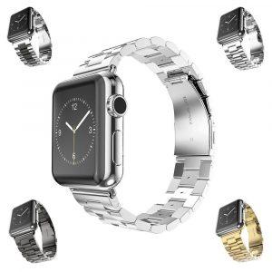 Металлический ремешок Stainless Steel Wrist band Apple Watch 42мм (сталь)