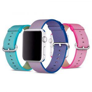 Нейлоновый ремешок Apple Watch 38мм/40мм (20+ цветов)