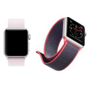 Нейлоновый спортивный ремешок Apple Watch 38мм (7 цветов)