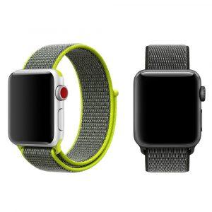 Нейлоновый спортивный ремешок Apple Watch 42мм (7 цветов)