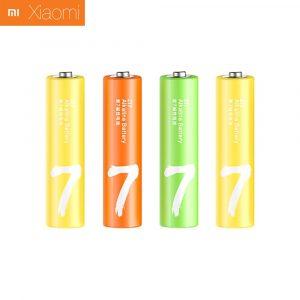 Алкалиновые батарейки Xiaomi Mi Zi7 Rainbow AAA (4 шт)