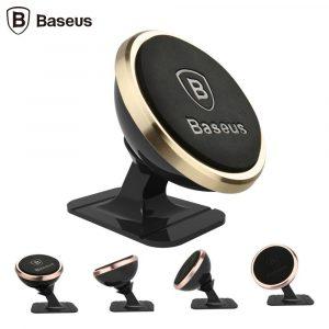 Автодержатель Baseus 360 Degree Magnetic Holder универсальный (клеевая платформа)