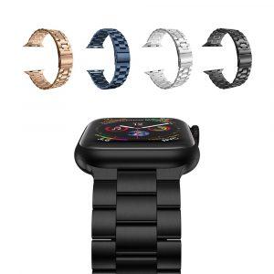 Блочный металлический ремешок для Apple Watch 42/44 мм