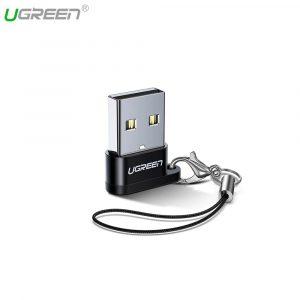 Адаптер UGreen® USB-A to USB-C Adapter (USB 2.0)