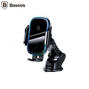 Держатель с б/п зарядкой Baseus Light Electric Holder (15W) Black / WXHW03-01