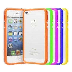 Бампер iPhone 5/5s/SE (поликарбонат/силикон)