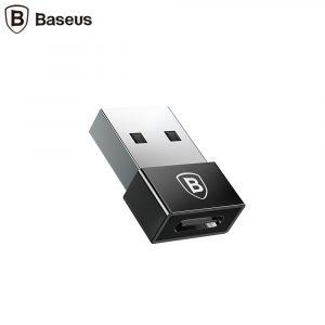 Адаптер Baseus Exquisite USB Male to Type-C Female, 2.4А (CATJQ-A01)